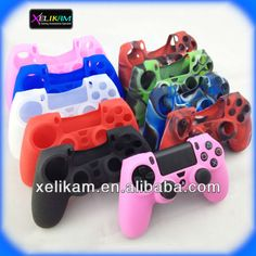 2014 New Product for PS4 accessory silicone cover case skin for PS4 silicone