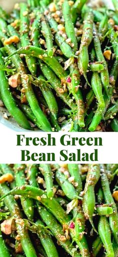 Business Cookware Ought To Be Sturdy And Sensible Fresh Green Bean Salad Is A Refreshing, Delicious Salad Thats Perfect For The Autumn Months. Go through The Fresh Veggies While Theyre Available Kids And Enjoy Healthy Vegetable Recipes, Best Vegetarian Recipes, Healthy Salad Recipes, Drink Recipes, Delicious Recipes, Fruit Recipes, Recipies, Fresh Green, The Fresh