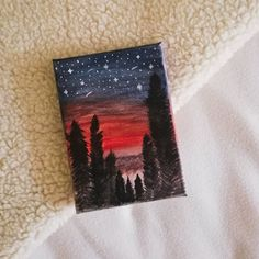 I felt to put stars on it yesterday and now I can say that my first acrylic painting is finished! Surprisingly it's kind of harder for me than expected. In the videos I've seen online, it looked wayyy easier 😅 . However it's beautiful anyway. It reminds me on the time, where I was so amazed by the night sky. I've never seen the sky here in my area so clear and full with stars. This was my very first time and it felt truly magical. I mean I'm not a starseed, but on that day I felt a… Night Skies, Connection, Felt, It Is Finished, Sky, Stars, Videos, Painting, Beautiful