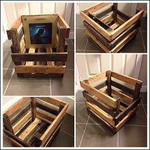 A Record Crate. A great idea for any collector. With DIY Instructions from VinceBierworth.com