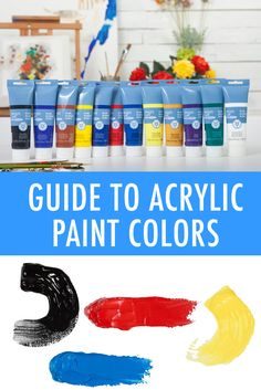 This easy-to-follow guide to acrylic paint colors details all the colors that you must own plus ideas for how to round out your collection. On Craftsy!