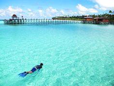 Maratua Island, Derawan archipelago East Kalimantan