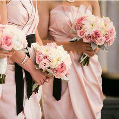 Blush white by vera wang bridesmaid dresses