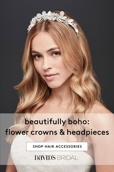 Novelties Mariage Decoration Simple Chrysanthemum Crystal Twisted Beads Handmade Hair Band Headband Wedding Accessories Highly Polished Wedding Accessories