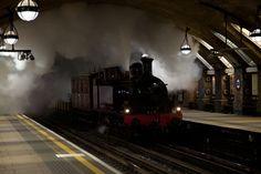 Met Locomotive No. 1 - making heritage runs across the Tube network