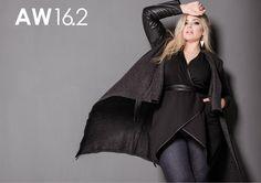 Harlow Lookbook AW 16.2 Page 1 Plus Size Fashion, Goth, Kimono Top, Autumn, Women, Style, Gothic, Swag, Women's