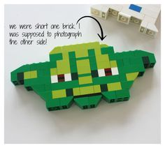 LEGO Star Wars Yoda  #LEGO Star Wars Йода