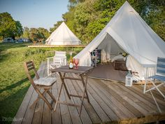 Back of Beyond Touring, Camping and Glamping Park, St Leonards - Updated 2020 prices - Pitchup® Bell Tent Camping, Camping Glamping, Luxury Camping, Outdoor Camping, Kayak Camping, Camping Tips, Lotus Belle Tent, Camping Con Glamour, Luxury Yurt