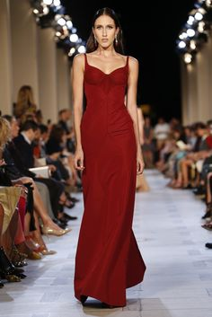 Pat Cleveland's Daughter, Anna for Zac Posen RTW Spring 2013.