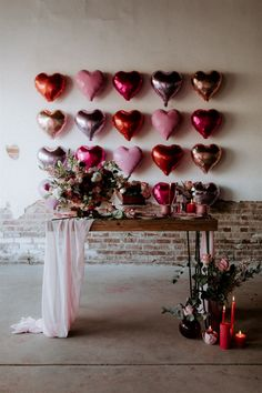 Elegant Valentine's Elopement Inspiration Is For The Coolest Of Couples. If you are looking for Valentine's Elopement Inspiration Is For The Coolest Of Couples, You come to the right place. Valentines Day Weddings, Valentines Day Party, Valentines Day Decorations, Red Party Decorations, Valentines Balloons, Heart Decorations, Valentine Ideas, Vintage Valentines, Birthday Balloons
