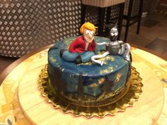 Futurama Cake by Kavarium