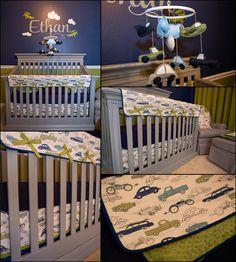 Ideas Baby Boy Nursery Vintage Cars Cribs For 2019 Boy Nursey, Baby Boy Nursery Themes, Baby Boy Rooms, Baby Boy Nurseries, Nursery Ideas, Neutral Nurseries, Elephant Nursery, Baby Decor, Kids Rooms