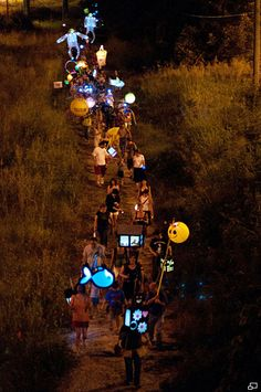 Atlanta BeltLine Lantern Parade | chantelle rytter - this sounds fun! Next one is September 7, 2013!