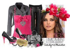 """mila"" by candy420kisses on Polyvore"
