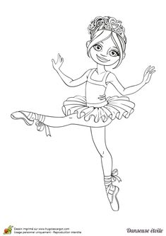 Coloriage Danseuse En Tutu.61 Images Succulentes De Coloriages De Danse Coloring Pages Nice