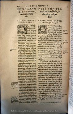 The 1592 Edition of Herodotus' Histories edited and printed by Henry II Estienne in Geneva