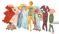 Aankleedpop Grace Kelly