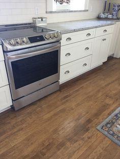 Original 1905 Maple Floors In Kitchen