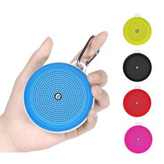 Mini Stereo Portable Bluetooth Speaker Clear sound music player outdoor Speakers supports TF Card FM Radio for Hiking  #Affiliate