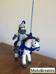 The knight on the white horse
