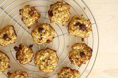 Tengo un horno y sé cómo usarlo: Galletas de copos de avena y arándanos-Oatmeal and cranberries guilt-free cookies