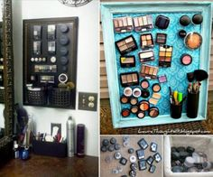 DIY Magnetic Makeup Board | The WHOot