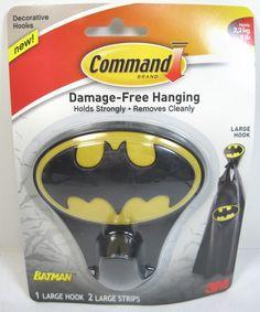 DC Comics Batman Decorative Command 3M Hanging Hook New