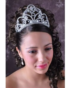 "Quinceanera Mall - 3.5"" Tiara"