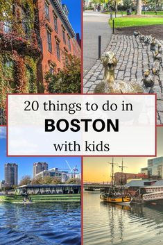 20 things to do in Boston with kids | Visiting Boston with kids | Boston attractions | Boston in the fall | Indoor attractions in Boston #visitBoston #BostonUSA #Bostonwithkids
