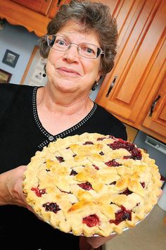 """Janet Rohrer of Boonsboro doesn't know exactly know how her bumbleberry pie got its name.""""I think it's just made up,"""" she said, suggesting that the collection of berries and fruit in the pie might..."""