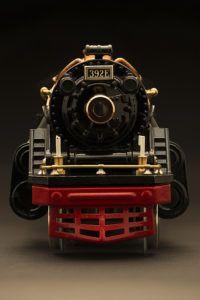 Model Locomotive Front
