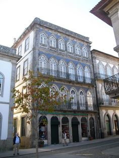 Traditional #portuguese architecture -Casa Azul., in Valença do Minho. Portugal.