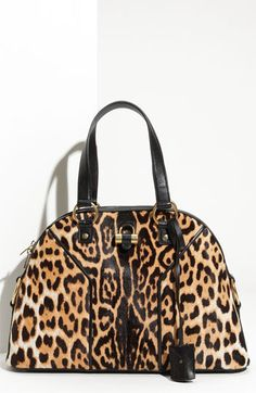 Yves Saint Laurent 'Muse - Large' Dome Satchel