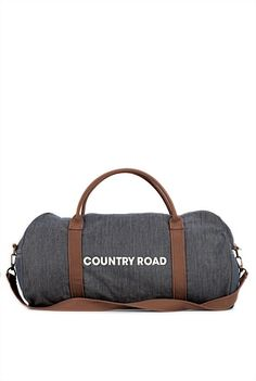 """i've seen a few people in seoul with these """"country road"""" bags and i'm always looking for them in the shops here. found out that it's an australian company. i really love this bag."""