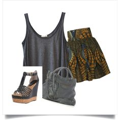 """""""Casual African Queen"""" by midasmama on Polyvore"""