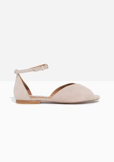 & Other Stories | Suede Strap Sandal