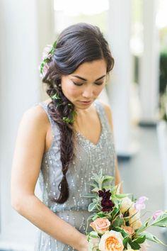 Ruffled - photo by Ashley Slater Photography http://ruffledblog.com/musical-flowing-wedding-inspiration   Ruffled