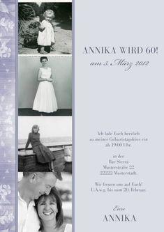 Einladung Zum 60 Geburtstag