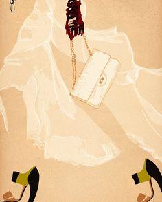 Hello Monday . . . #illustration#fashionillustration#sandrasuy#fashion#illustrator#color#energy#monday#mondaymood#