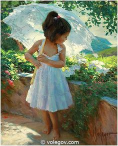 """Flowers Under Sun"" by Vladimir Volegov, 2010"