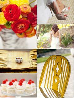 raspberries in the sun... wedding inspiration