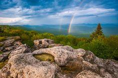 Dolly Sods West Virginia Rainbow | Joseph Rossbach