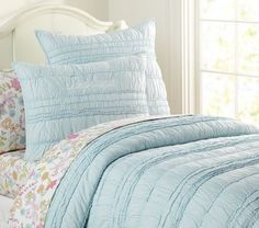 Lillian Quilted Bedding | Pottery Barn Kids