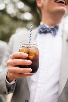 mason jar drinks | Courtney Dox #wedding