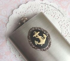 Anchor Flask from Etsy