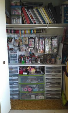 scrapbook storage closet - Scrapbook.com