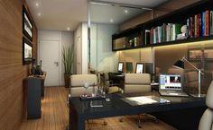 Veja as mais belas referências de decoração para escritórios de advocacia em projetos atuais. Confira no post.