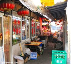A hidden marketplace in Dalian, China.  See more: http://www.gypsynester.com/dalian.htm