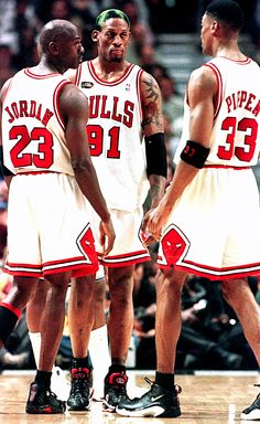Defense. MJ, Pip, & Rodman were all voted NBA All-Defensive 1st Team in 1996. This was there 72-10 season with a Championship to go with it. Defense wins Championships.