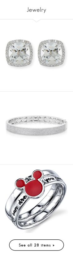 """""""Jewelry"""" by ayeegabbeh ❤ liked on Polyvore featuring jewelry, earrings, accessories, 18k jewelry, stud earrings, white gold stud earrings, frederic sage jewelry, 18k earrings, bracelets and white"""